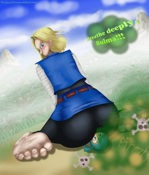 RQF #12: Android 18's Fartplosion by Keijix