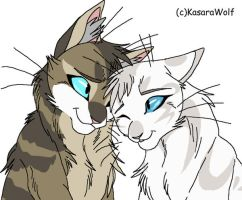 Cat Couple 2 Expecting GONE by Kasara-Designs