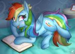 MLP: ''Wanna Read With Me?'' by KikiRDCZ