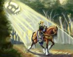 Zelda of the Colossus by Farlo