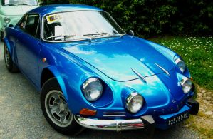 1975 Alpine-Renault A110 Berlinette 1600 SI by GladiatorRomanus