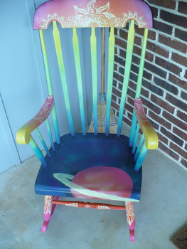 Cosmic Chair by CDS-03