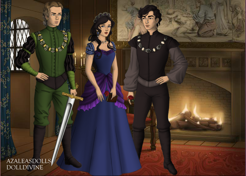 Tudor Doll- Valmont, MC Cobra and Cora by fan-of-a-thousand