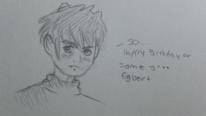 Happy Belated Birthday John Egbert! by HaroliRuko