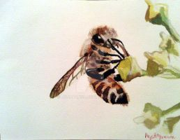 Bee Happy by AnjaPanya