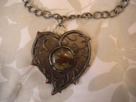 Heart of Stone necklace by Rotten-Alice