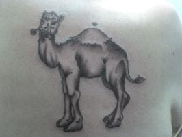 Camel Tattoo by charligal