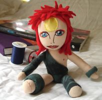 Ziggy Stardust Plush by dollphinwing