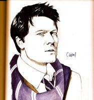 Ravenclaw Castiel by 4strikes