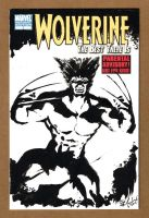 Wolverine Sketch Cover 1 Front by ChrisMcJunkin