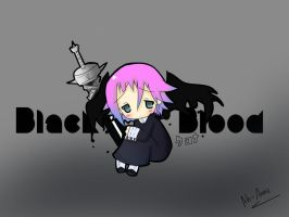 "Chibi Crona ""Black -x- Blood"" by Ab-anna"
