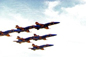 Blue Angels Delta by RedWingnut