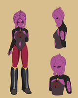 Majin Twile (revamped design) by TwilightNightStar