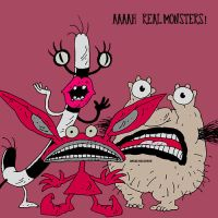 AAAAAH Real Monsters by loveviolence