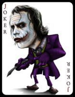 joker dark knight by tapuklok