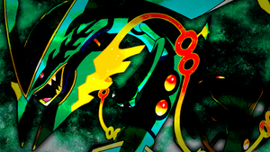Mega Rayquaza Wallpaper 2 by Glench