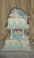 art deco cake by diullbar22