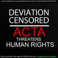 DOWN WITH ACTA by Princess-Okimaka039