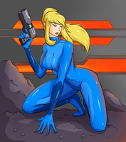 Zero Suit by upshdragoon