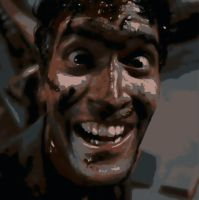 Evil Dead Ash Paint By Number Art Kit by numberedart