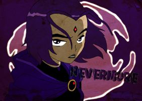 Teen Titans - Raven Poster by RobynOake