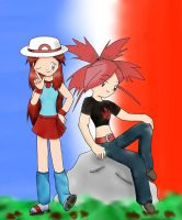 Request-Blue and Flannery by PKD123