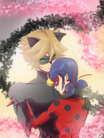 Miraculous Ladybug Fanart:Creation and Destruction by Kyoei-San