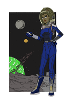 Spaced Out Sophia by JDogindy