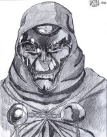 Doctor Doom Raep Faic by Dolphinator45