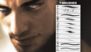 GIMP Scar Face Brushes by GimpBrush