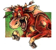 Mad Cow by gryen