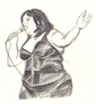 Beth Ditto by DarkIsLightEnough