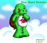 Care Bears OC- Slow Heart Tortoise by Carebeargirl99