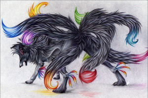 Nine tails by ShadowwKatt