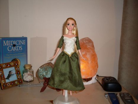 Tangled Rapunzel Concept Art Custom Doll by Nightfall26