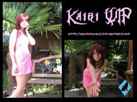 Kairi WIP by VandorWolf