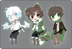 cuties [adopts set price OPEN] by Anokami
