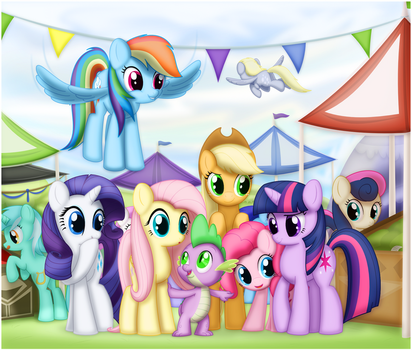 A Day at the Market by CTB-36