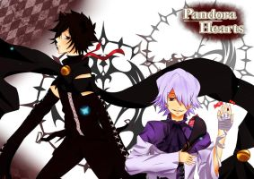 Pandora Hearts: Cheshire and Break by CynnScarlet