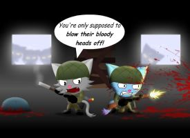 Night of the nazi zombies by GoneIn10Seconds
