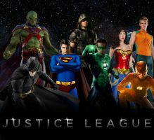 Alternative Justice League by Asthonx1