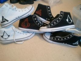 Assassin's Creed UDT sneakers by BloodlessSnow