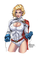 Power Girl by LazerBat