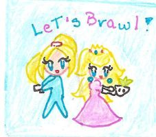 13 - Peach and Samus by Juliana1121