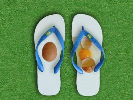 flip flop egg by Titareco
