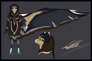 Full Body -Bat Heron- by shorty-antics-27