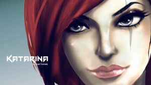 Katarina League of Legends. by faruuk-sama