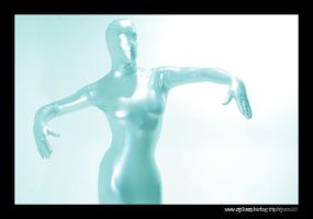 Zentai suit by sykesphotography