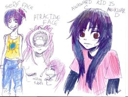 ugly old me by why-yari