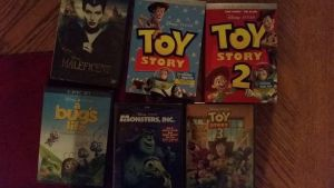 New Disney movies to add to my collection :D by WinterMoon95